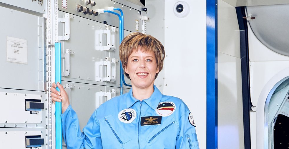 Nancy Vermeulen Space Training Academy