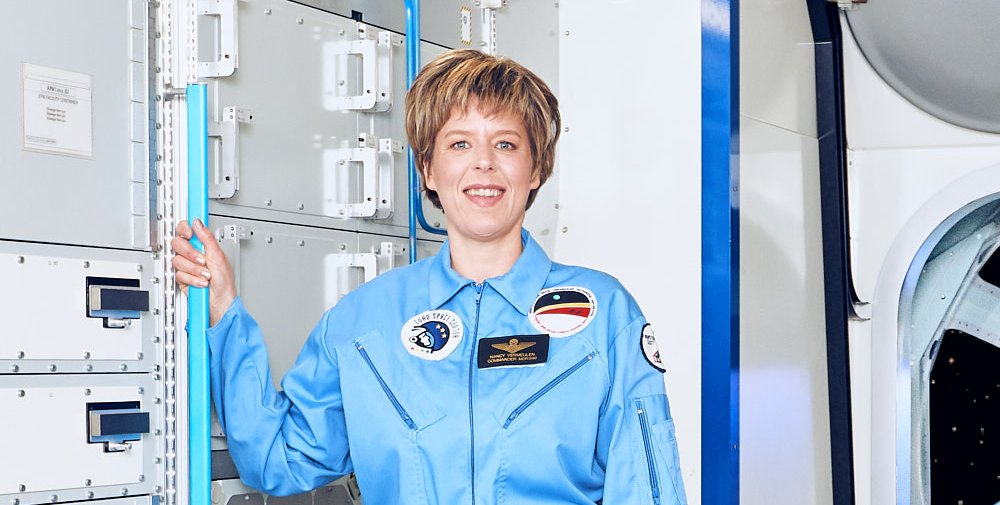 Private Astronaut Training Nancy Vermeulen Space Training Academy