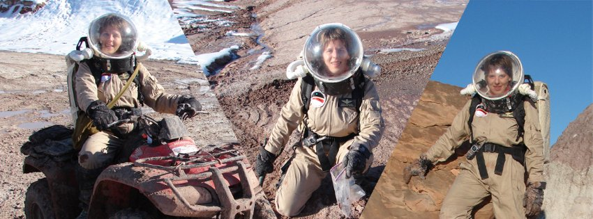 Commander of a Mars simulation mission Nancy Vermeulen